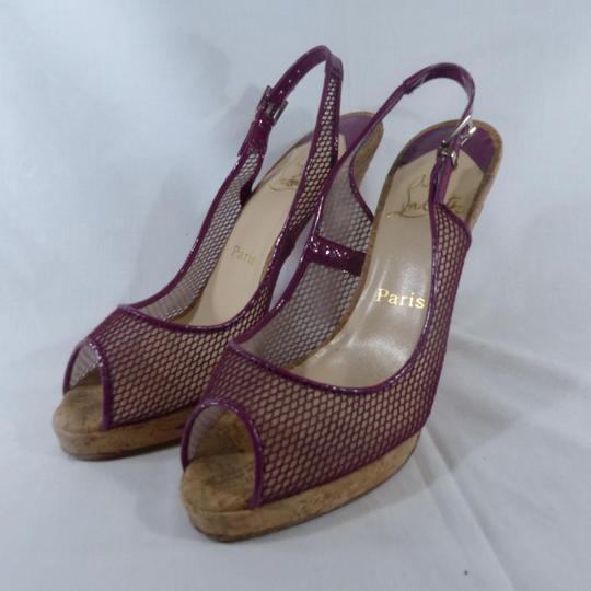 b879051798db1 Escarpin Louboutin en cuir pour femme taille 39 1 2 sur Label Emmaüs ...