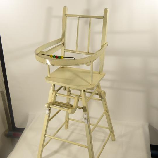 Vintage Chaise Transformable Bois Boulier Pour Haute Poupée À En rsQdtCBhxo