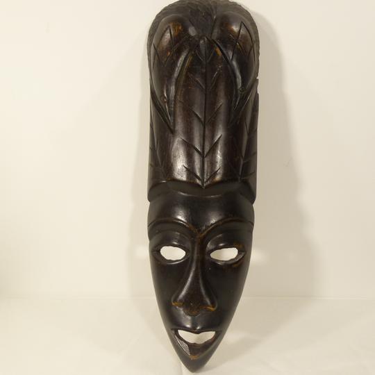 prix bas construction rationnelle 2019 professionnel Masque africain en bois exotique sculpté
