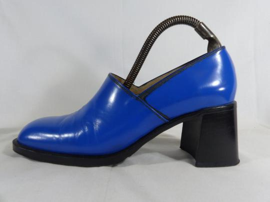 escarpins cuir  Free Lance bleu T 36 - Photo 2