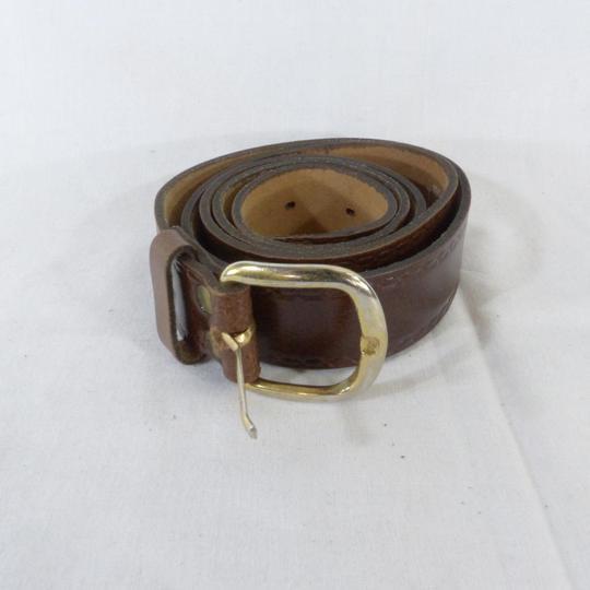76386b8f67 Ceinture cuir homme Yves boucle doré sur Label Emmaüs, boutique en ...