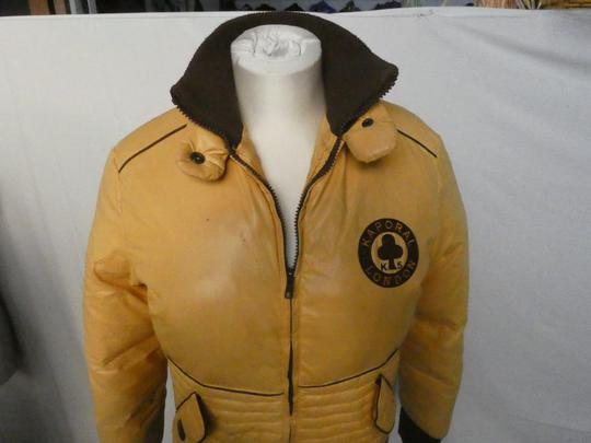 Blouson Doudoune Femme KAPORAL Taille L couleur moutarde