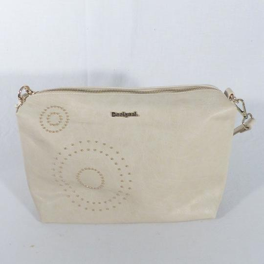 Sac à main beige perlé Desigual - Photo 0