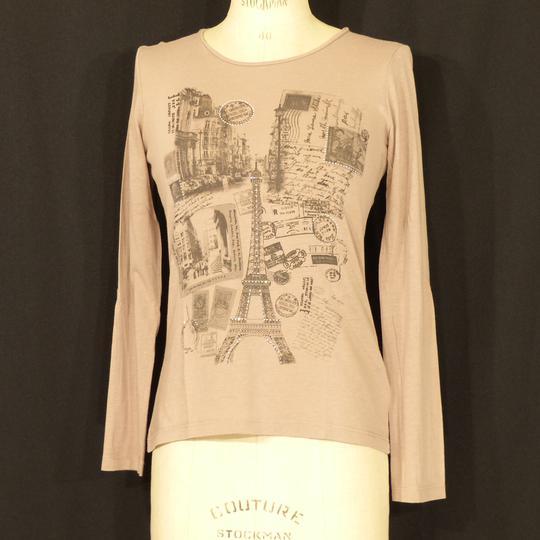 Tee-shirt marron CAROLL - Taille 38 sur Label Emmaüs, boutique en ... 4f3184a76e1f