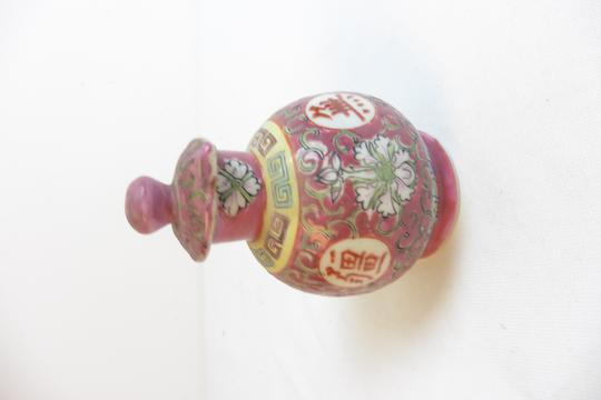 Petit vase Asiatique en porcelaine  - Photo 0