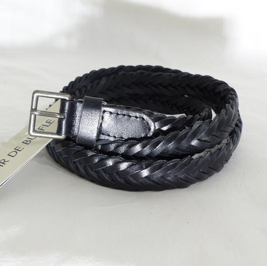 Ceinture cuir noir MONOPRIX - Taille 105 sur Label Emmaüs, boutique ... 80534890eb0
