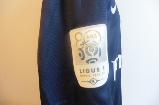 Maillot du PSG Ligue 1, 80 ans, signé par Ibrahimovic - Photo 3