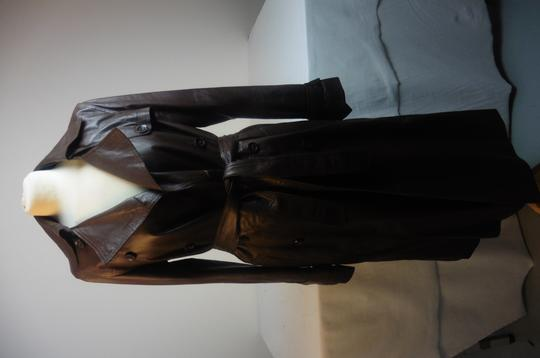Manteau marron Gerard Darel taille 38 - Photo 3