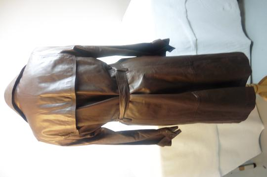 Manteau marron Gerard Darel taille 38 - Photo 4