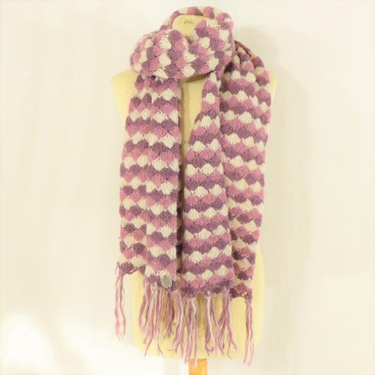 Écharpe violette Mexx sur Label Emmaüs, boutique en ligne solidaire 9892ab4358f