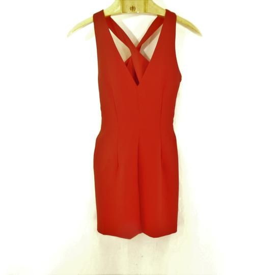 Robe rouge MANGO - Taille XS - Photo 0