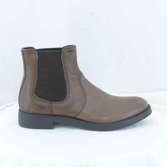 Boots cuir marron GEOX Pointure 40