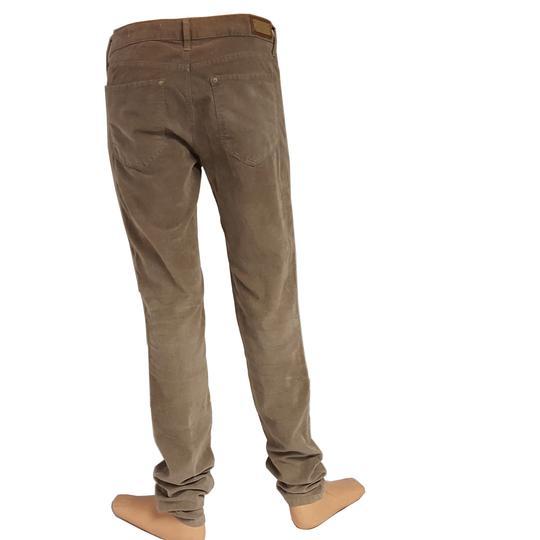 nouveau produit 4dec5 6a84a Pantalon Zara slim velours côtelé beige T 36