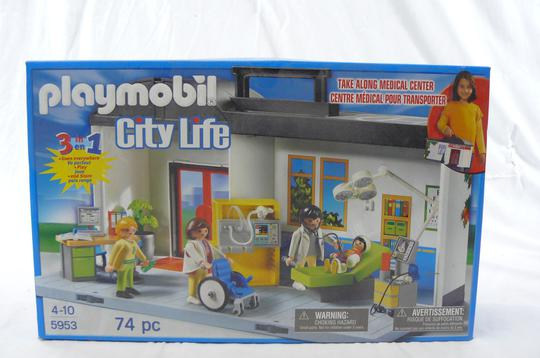 PLAYMOBIL CITY LIFE Centre médical - Photo 0