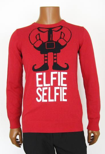 Sur Elfie Pull T m Selfie Emmaüs amp;m En Boutique Label Noël H De wanYWn0EU8