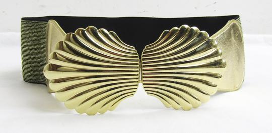 Ceinture dorée boucle coquillage T.U sur Label Emmaüs, boutique en ... 539b987b8e6