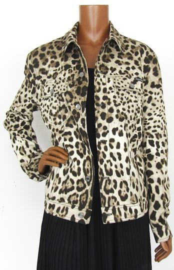 8c56549fb6bf Veste imprimé léopard