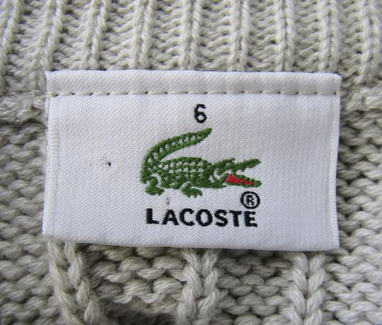Ligne Emmaüs Pull Maille Label Solidaire Sur Lacoste Boutique En 00rqTX