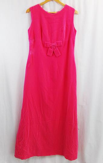 Robe en velours rose 36