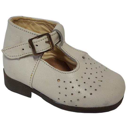 b903827352625 Chaussure salomé sandale bébé cuir Poupic P 17 vintage sur Label ...