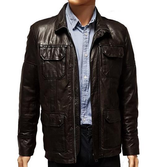 3d26f0645cfa Blouson veste Oakwood en cuir pour homme T S sur Label Emmaüs ...