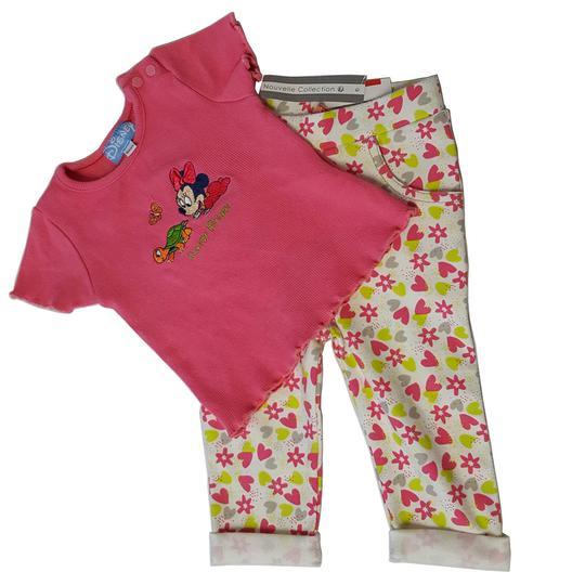 f06a481bf3008 Ensemble bébé fille 6 mois Pantalon neuf et Tee shirt Disney - Photo ...